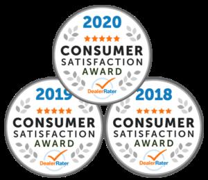DealerRater Consumer Satisfaction Awards
