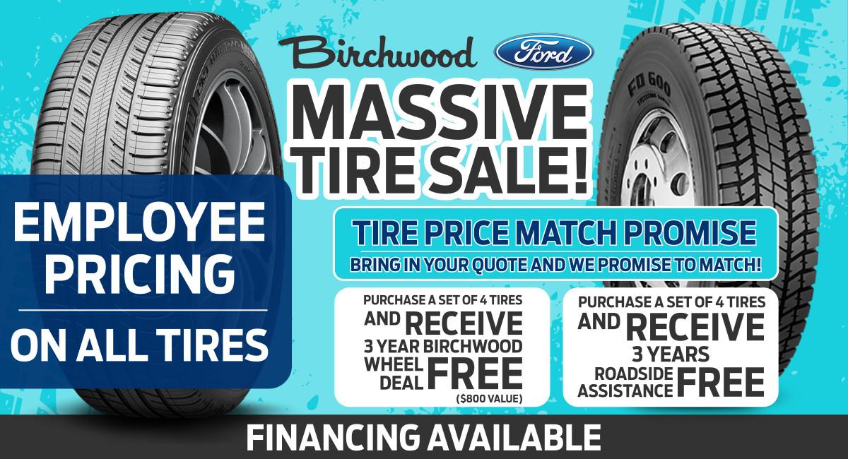 Ford tire sale in winnipeg