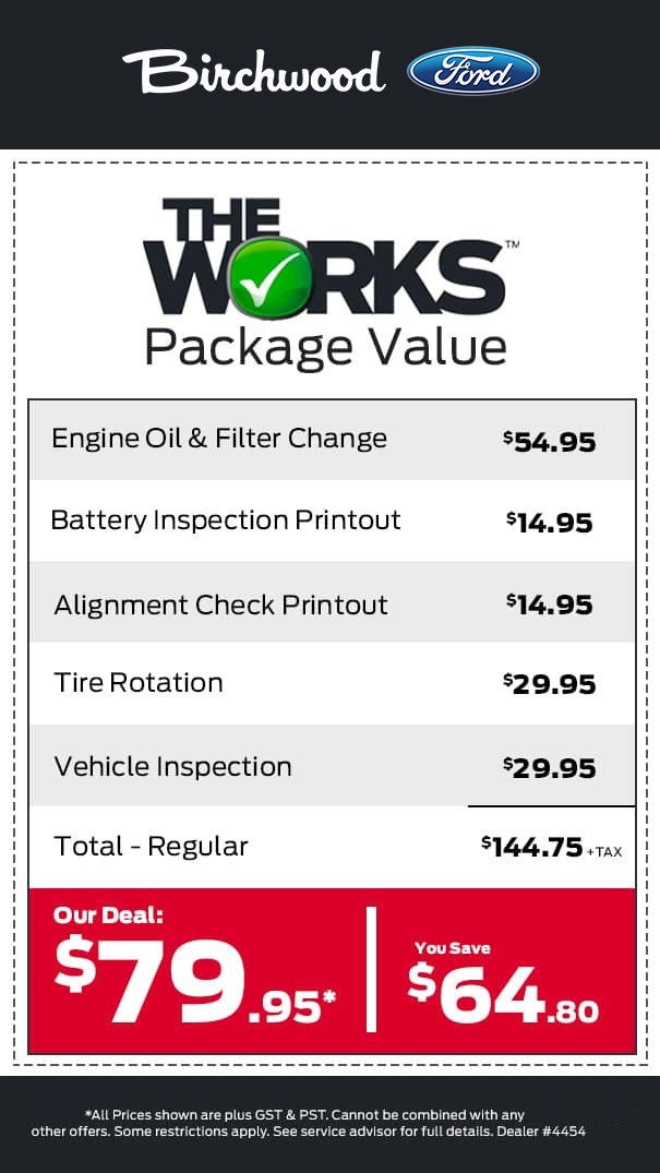 The Works Value Package