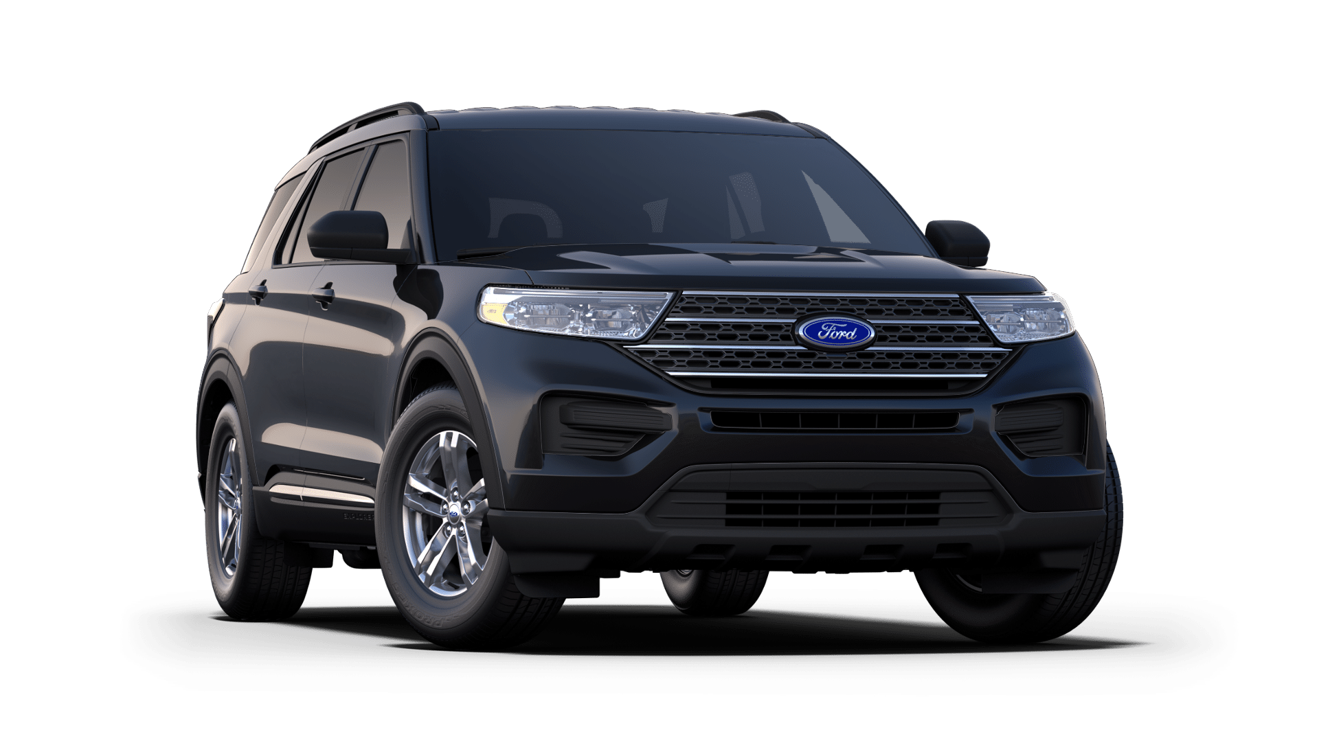 2020 Ford Explorer Agate Black